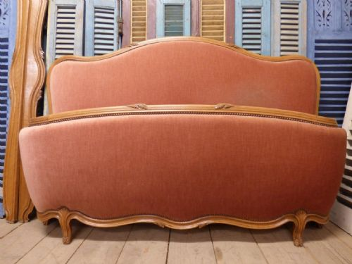 VINTAGE FRENCH KING SIZE BED - 160cm Mattress - fd121